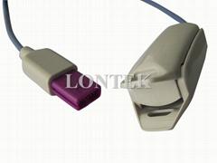 Compatible Lohmeier Reusable spo2 sensor with CE