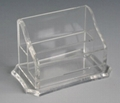 acrylic name card holder and pen holder 3