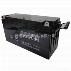 12V150AH 密封阀控式铅酸蓄电池