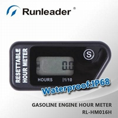 Digital hour meter For gas Engine dirt bike Atv tractors motorcycle scooter boat