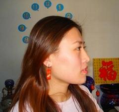 電子病曆耳環