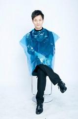 Disposable salon hair cutting cape,hair dressing cape,Disposable hairdressing ca