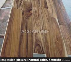 Engineered small-leaf Acacia flooring