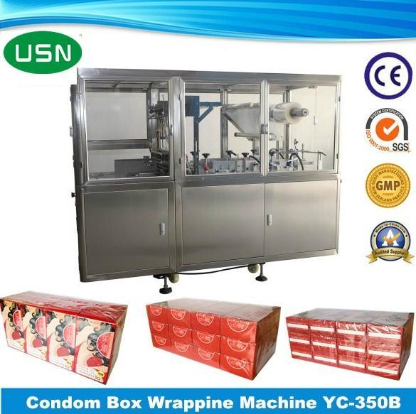 Condom box wrapping machine (YC-350B) 1