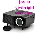 Global sales in the first! VIVIBRIGHT GP5S HDMI Port New upgrade led mini projec