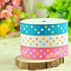 Pretty dot printed ribbon