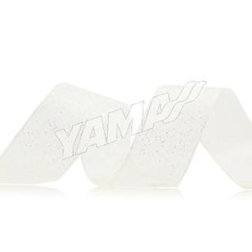 Glitter Printed Ribbon white sheer printing ribbon 1