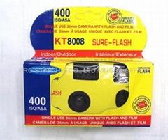 SINGLE USE 35MM CAMERA W/FLASH