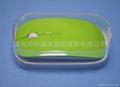 LJ-033蘋果鼠標水晶盒 透明包裝盒 鼠標透明包裝盒 1