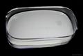 LJ-033蘋果鼠標水晶盒 透明包裝盒 鼠標透明包裝盒 2