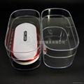 LJ-041鼠標水晶盒 音箱水晶盒 透明包裝盒 塑料盒 3