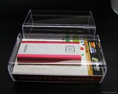 LJ-047移動電源水晶盒 透明包裝盒 水晶包裝盒