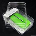 LJ-048移動電源水晶盒 透明包裝盒 水晶包裝盒  2