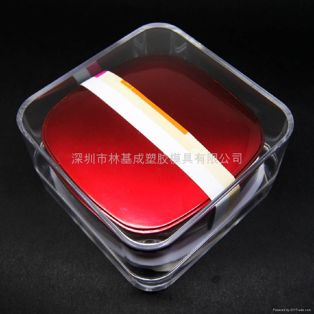 LJ-054移動電源水晶盒 透明水晶盒 3