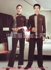 供应宾馆酒店服务员服装