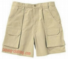 休閑短褲(多袋褲)