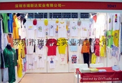 Many kinds of color advertisement T-shirt provides