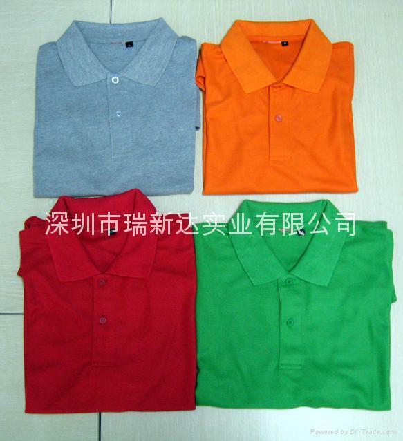 反领短袖T恤 1