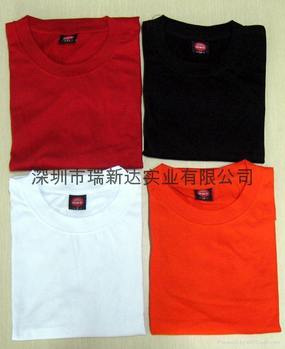 现货T恤,广告衫,促销服装 2