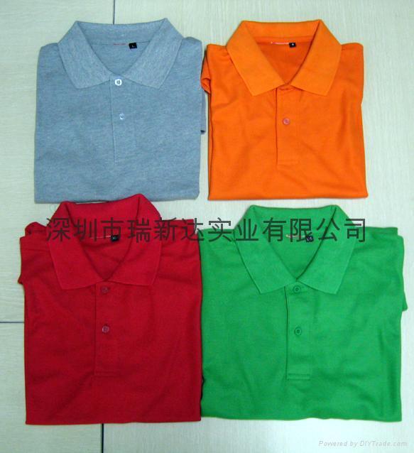 现货T恤,广告衫,促销服装 3