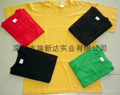 现货T恤,广告衫,促销服装 4
