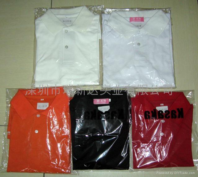 现货T恤,广告衫,促销服装 5