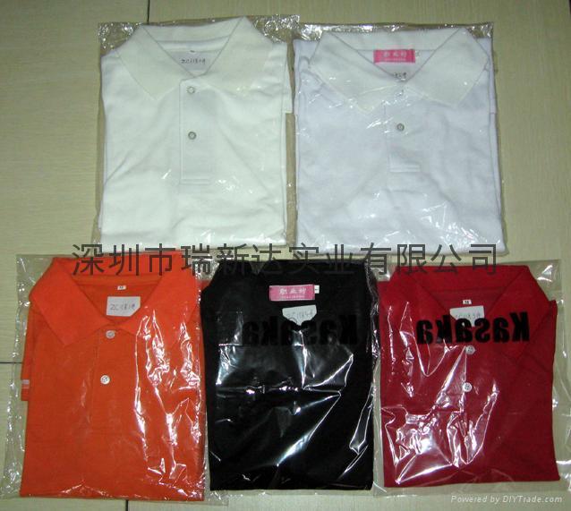 反领短袖T恤 4
