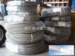 鐵氟龍管材+不銹鋼編織強化層