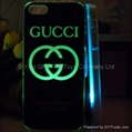 LED Flashing Case For Iphone 4 / 4G / 4S / 5 (Hot Product - 1*)