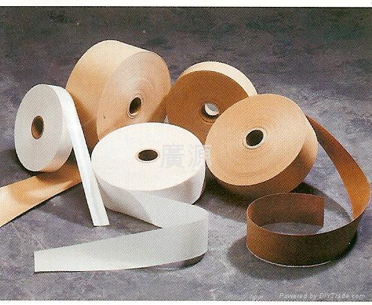 沾水黏-1.纖維強化膠帶/2.牛皮紙膠帶(無纖維)