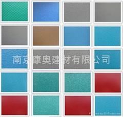 耐磨纯色PVC塑胶地板,运动地板,纯色地板