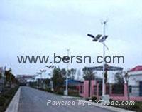 DC 24V / 70W metal halide ballast solar powered street lighting system 1