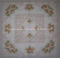 Embroidery Table Cloth #08Z111