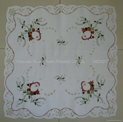 Embroidery Christmas Table Cloth   #08Z021