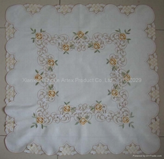 Cutwork Embroidery Table Cloth   #08Z029