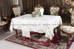 Embroidery Table Cloth # 08Z044