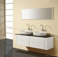 Double basin bathroom cabinet, bath cabinet, bathroom vanity N834B