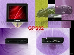 GPS Navigation with MP3/MP4 function(GPS02)