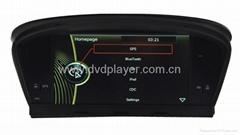 6.2 inch car dvd player with gps BMW 5er E60 E61 navigation