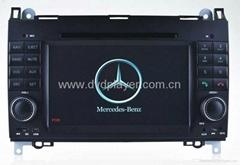 6.2 inch digita car dvd with gps for Mercedes-Benz B-class W245 dvd navigation