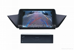 7.0 inch car dvd player with gps for BMW X1 E84 GPS Navigation
