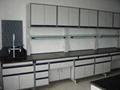 C型鋼木實驗有架邊台、水槽櫃