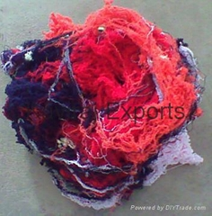 100% Cotton Colour Hosiery Yarn Waste