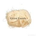 100% Cotton White Teased Yarn Waste