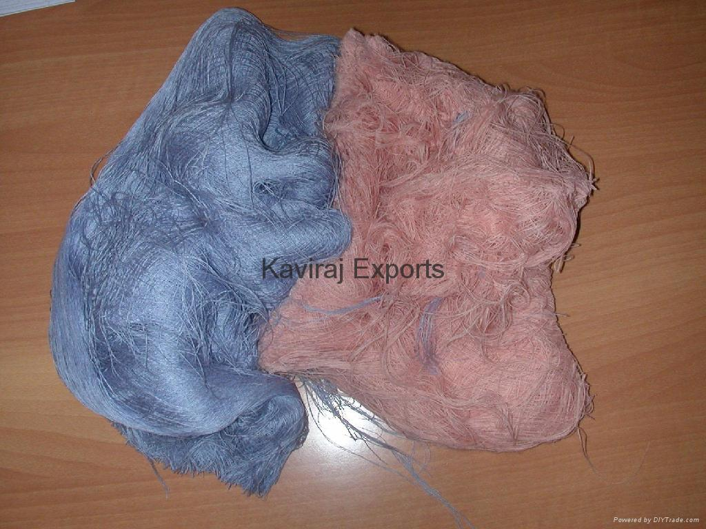 100% Cotton Colour Yarn Waste