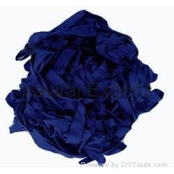 Cotton Navy Blue Hosiery Clips