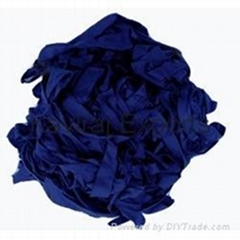 Cotton Navy Blue Hosiery Clips
