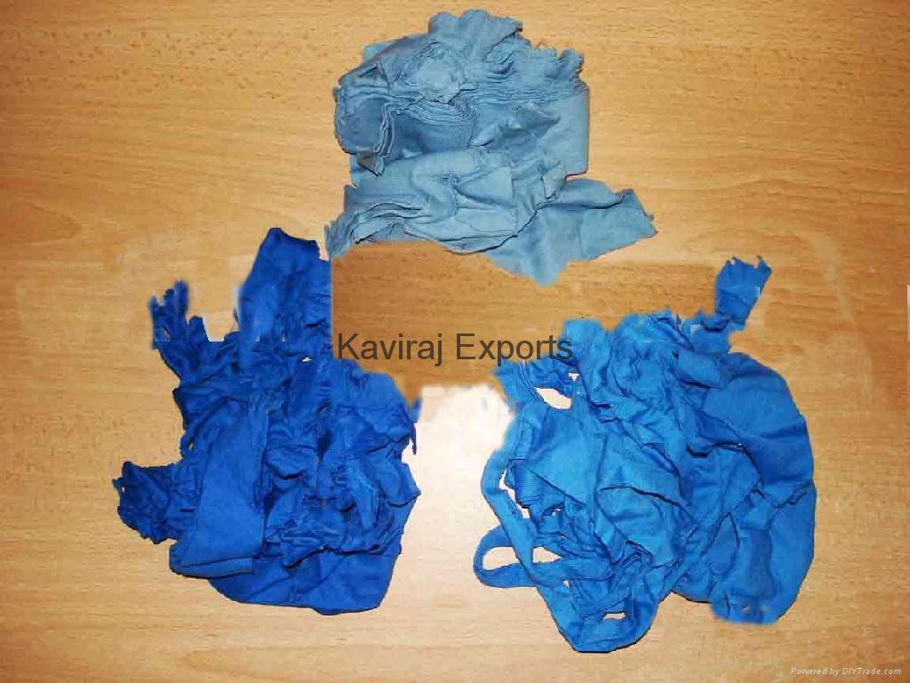 Cotton Royal Blue Hosiery Clips