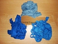 Cotton Royal Blue Hosiery Clips