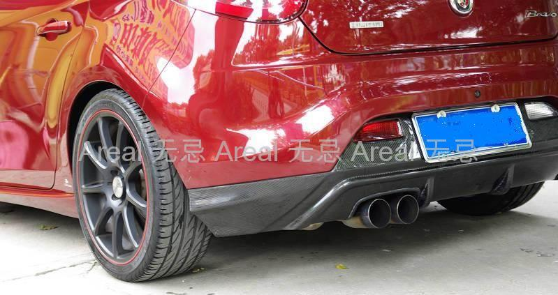 Bravo 2008 rear diffuser areal china manufacturer Car exterior decoration accessories